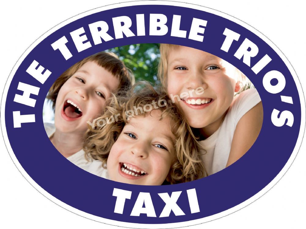 Terrible Trio sticker